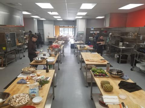 12-Week Basics of Cooking Series: Starts Sat, Sept 16; 12-3pm; Chef Olive & KOF chefs (San Pablo Ave - free private parking)