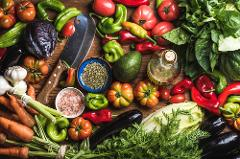 Healthy ​Vegetarian and Vegan Living: Sun, April 8; 5-9pm; Chef Olive and Nutrition Consultant Lisa Miller (Berkeley)