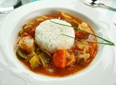 New Orleans Cuisine: Sat, Aug 26; 6:30-9:30pm; Chef Kevin (Shattuck Ave)