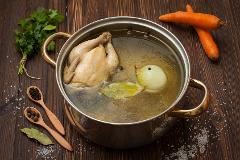Basics of Cooking - Stocks, Soups and Poaching: Sun, Apr 8; 11am-2pm; Chef Olive & KOF chefs (Oakland)