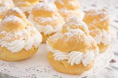 French Pastry Basics - Cream Puffs, Eclairs, and Gougeres: Wed, Oct 4; 6:30 - 9:30pm; Chef Michael Kalanty (San Pablo Ave)