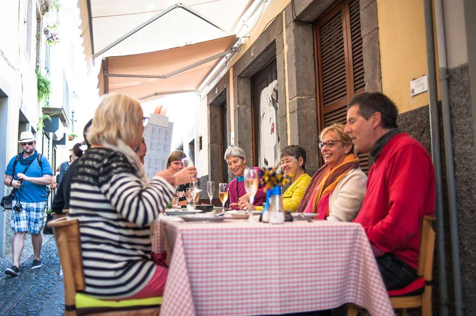 Wine and Food Walking Tour in Funchal