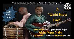 WORLD MUSIC EVENT - Alpha Yaya Diallo Trio