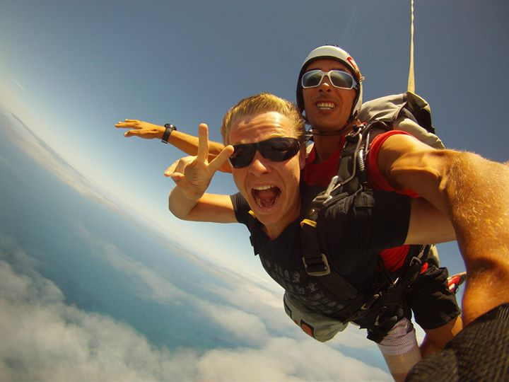15,000ft Mid Week - MAXIMUM ADRENALIN !