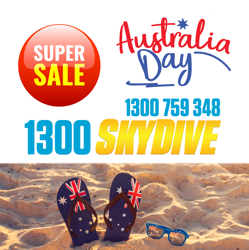 Tandem Skydive Special - Australia Day Weekend [Free Transfers Brisbane]