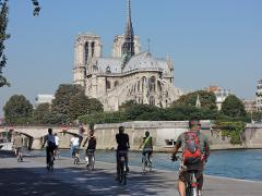 The Paris Monuments bike tour