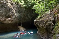 CAVE TUBING and JUNGLE ZIPLINE COMBO BELIZE ADVENTURE Full Day Tour