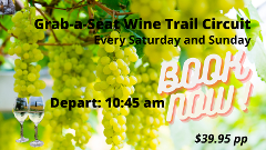 Grab a Seat Wine Circuit Tasting in Marlborough 10:45 am