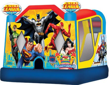 Justice League Jumping Castle