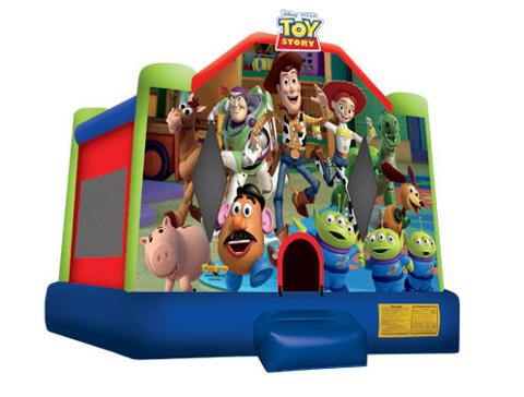 Toy Story Jumping Castle