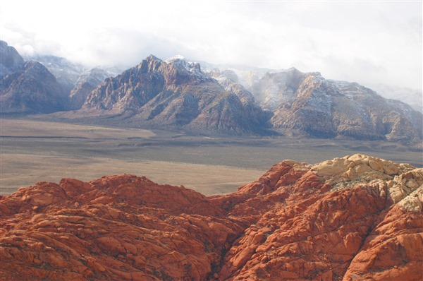 Red Rock Canyon Helicopter Tour With Tickets To The Nathan Burton Comedy Magi