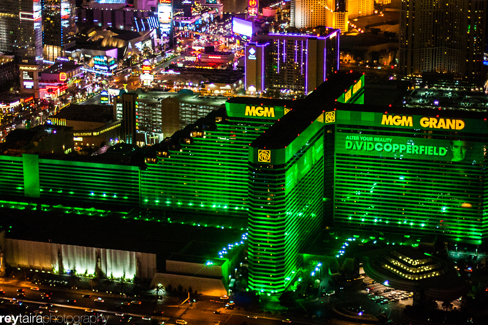 Las Vegas Strip Helicopter Tour Skyline