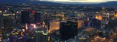 Las Vegas VIP Helicopter Tour with tickets to the Nathan Burton Comedy Magic Show