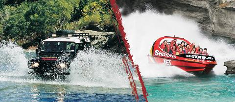 4WD & Shotover Jet Combo - Essential Queenstown