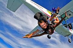 EXTREME 12,000 FT Tandem Skydive (Experience 45 seconds of Free Fall)