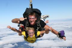 LEGEND 14,000 FT Tandem Skydive (Experience 60 seconds of Free Fall)