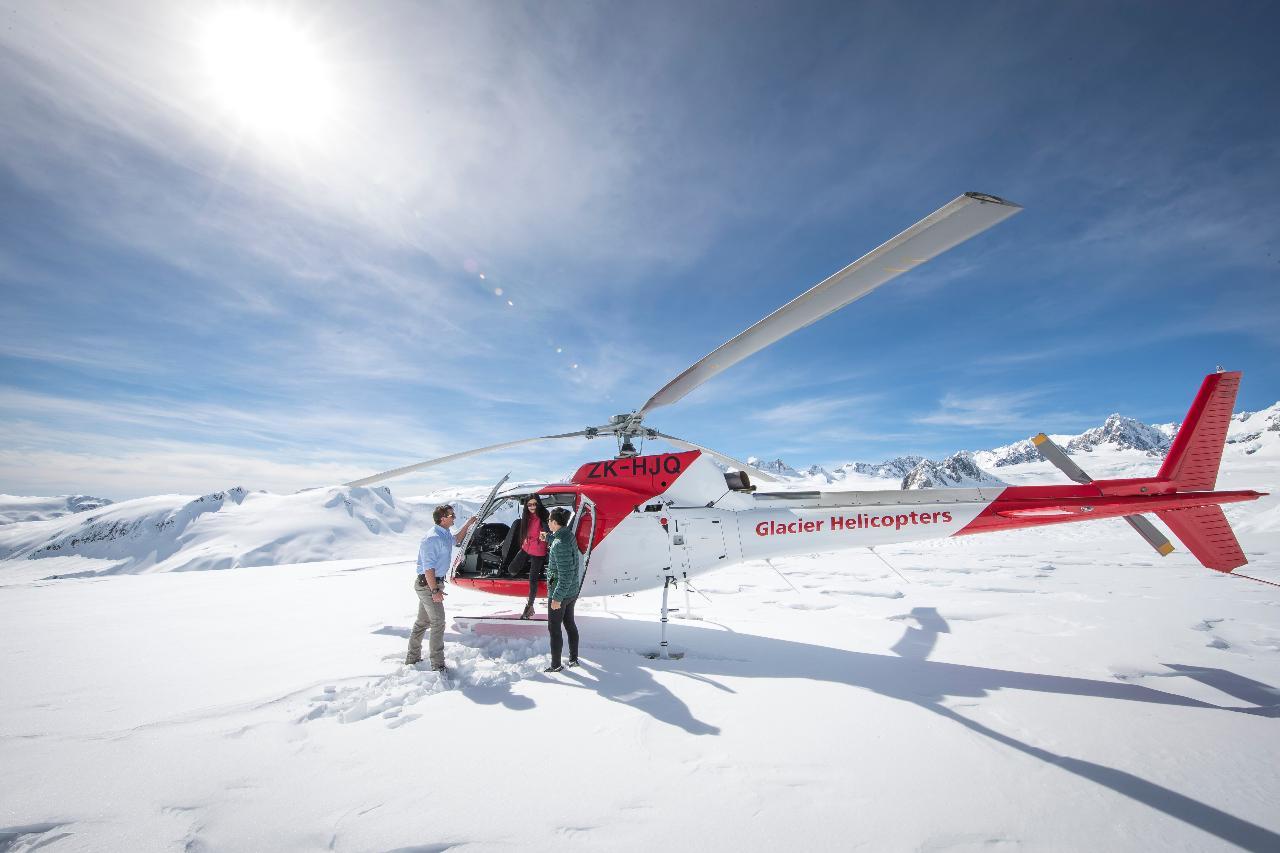 Franz Josef Glacier 20min Helicopter Flight & Off-Road Adventure
