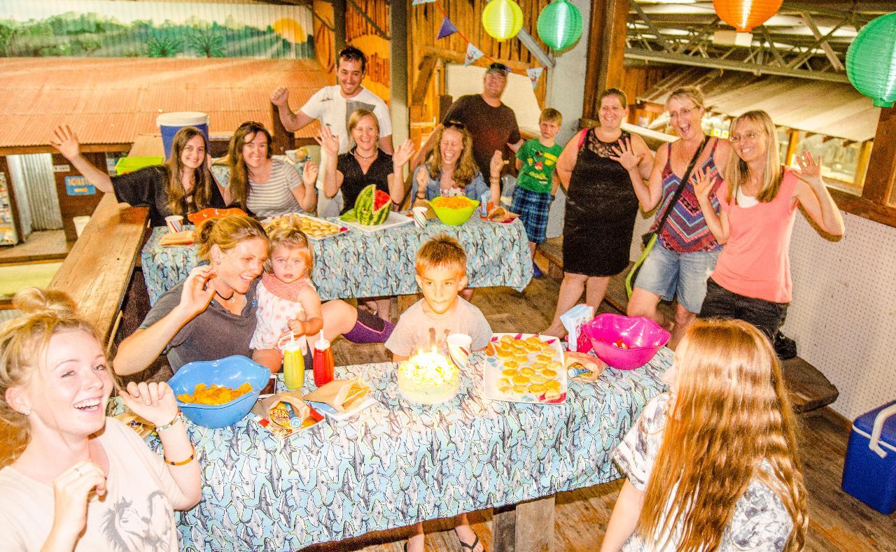 Raspy Ray Birthday Party ~ Catered by Irukandji