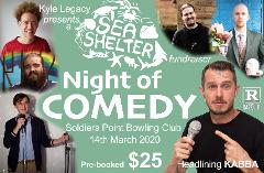 Z Night of COMEDY ~ Sea Shelter Fundraiser