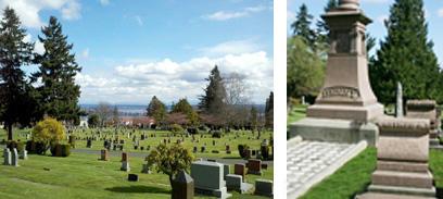 Cemeteries & Famous Gravesites
