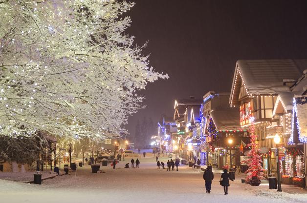Christmas Town Leavenworth