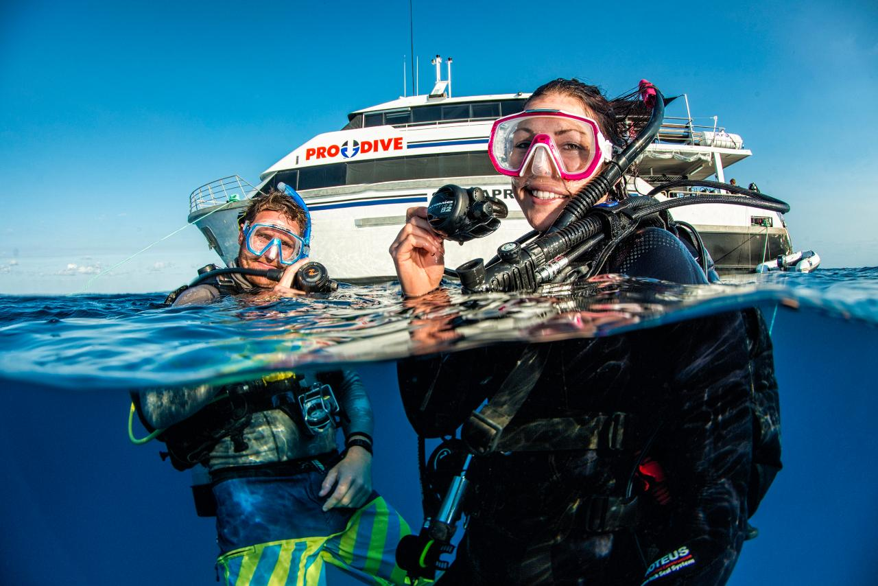 PADI Open Water Course | 5 Days | Great Barrier Reef Liveaboard