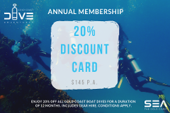 Annual Membership Rewards - 20% Discount Card