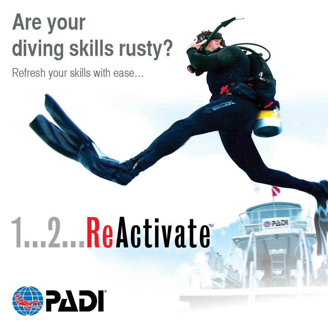 ReActivate PADI Scuba Refresher Program