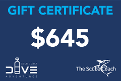 $645 Gift Certificate