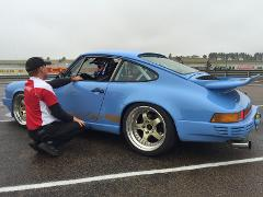60 lap track day with instruction - Historic Porsche 911