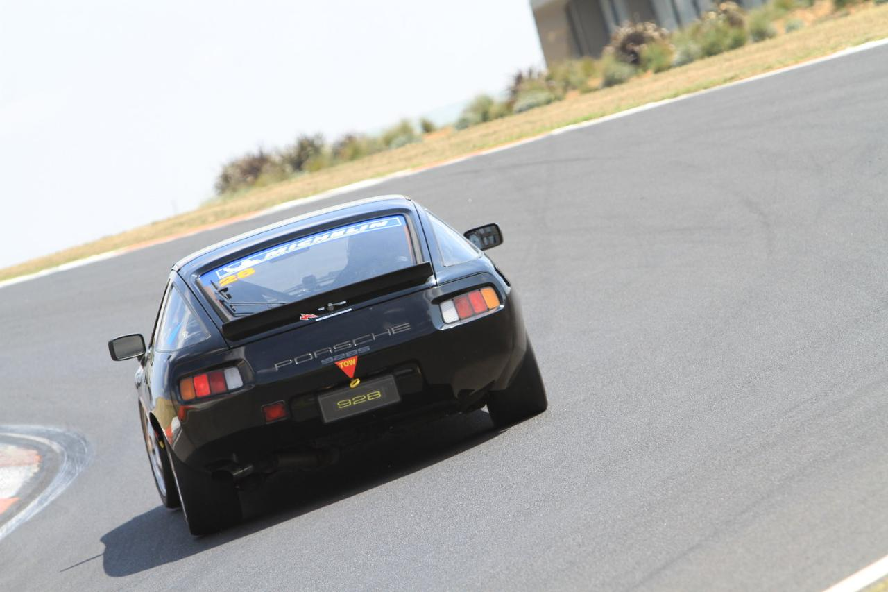 60 lap track day with instruction - historic Porsche 928