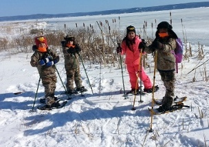 Snowshoeing Excursion On Great Slave Lake