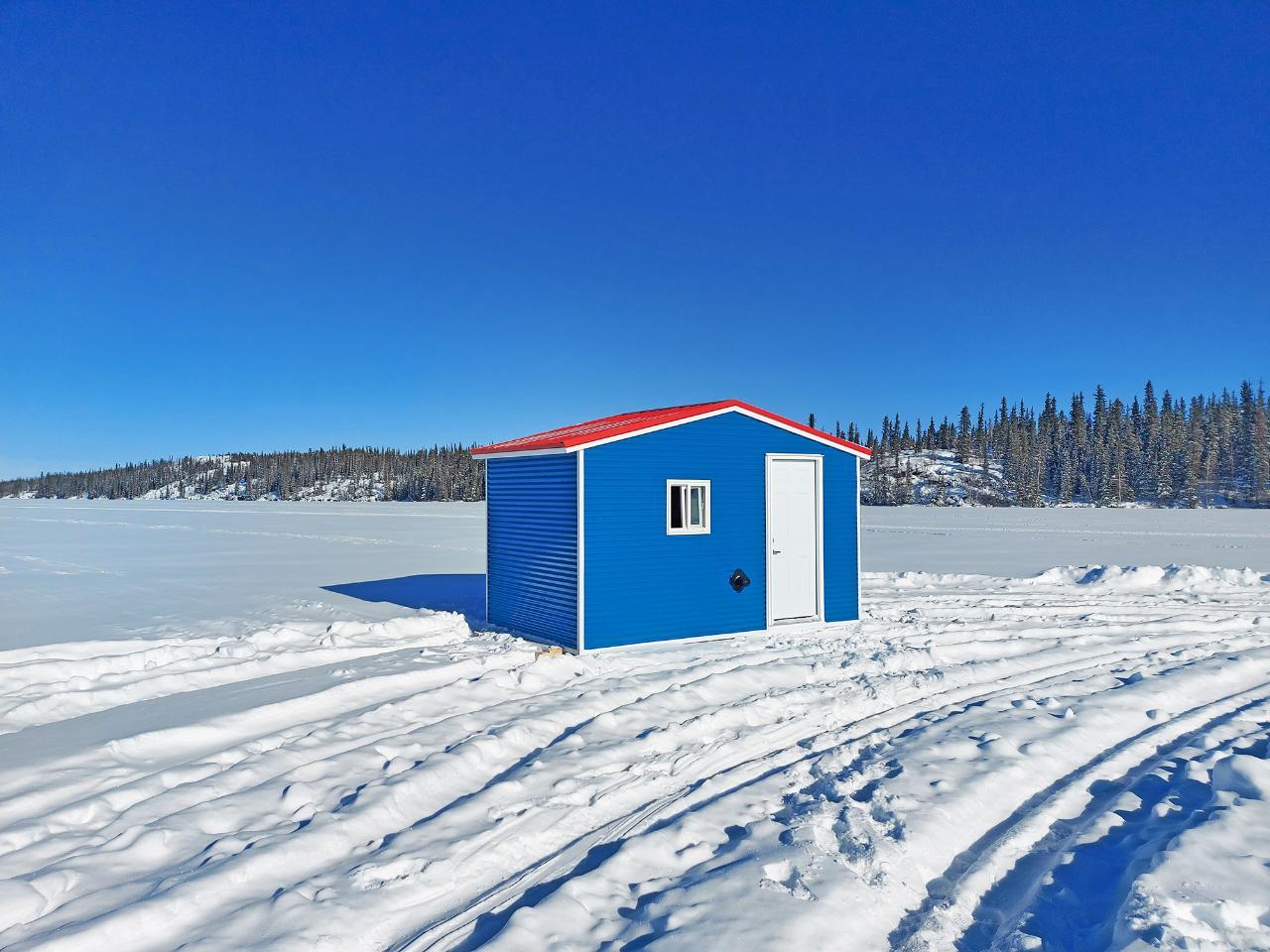 Staycation Yellowknife Ice Fishing Shacks Rentals