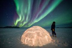 Yellowknife Blachford Resort All Inclusive Aurora Package
