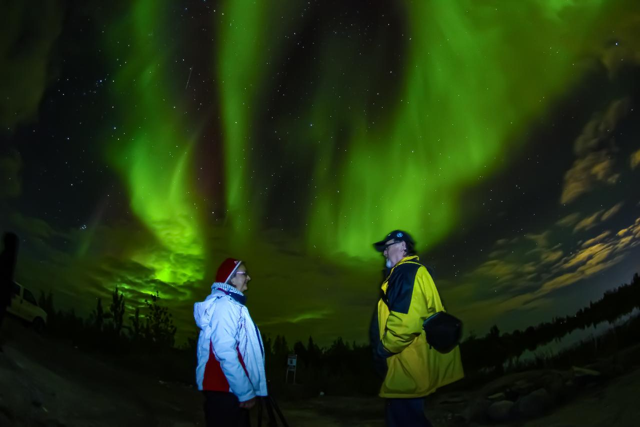 Yellowknife 5 days 4 nights Winter Northern Lights Holiday package