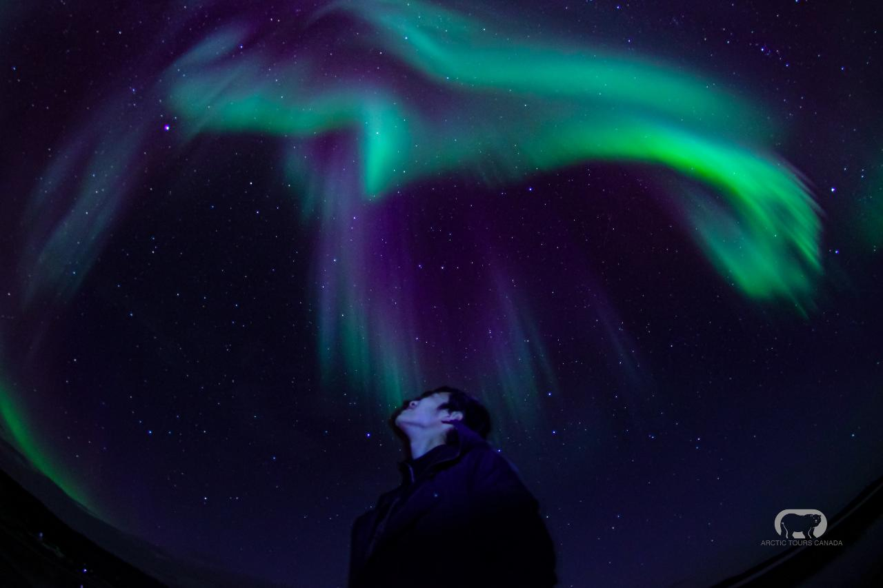 Yellowknife Aurora Hunting Tour Including 3-Nights Accommodation