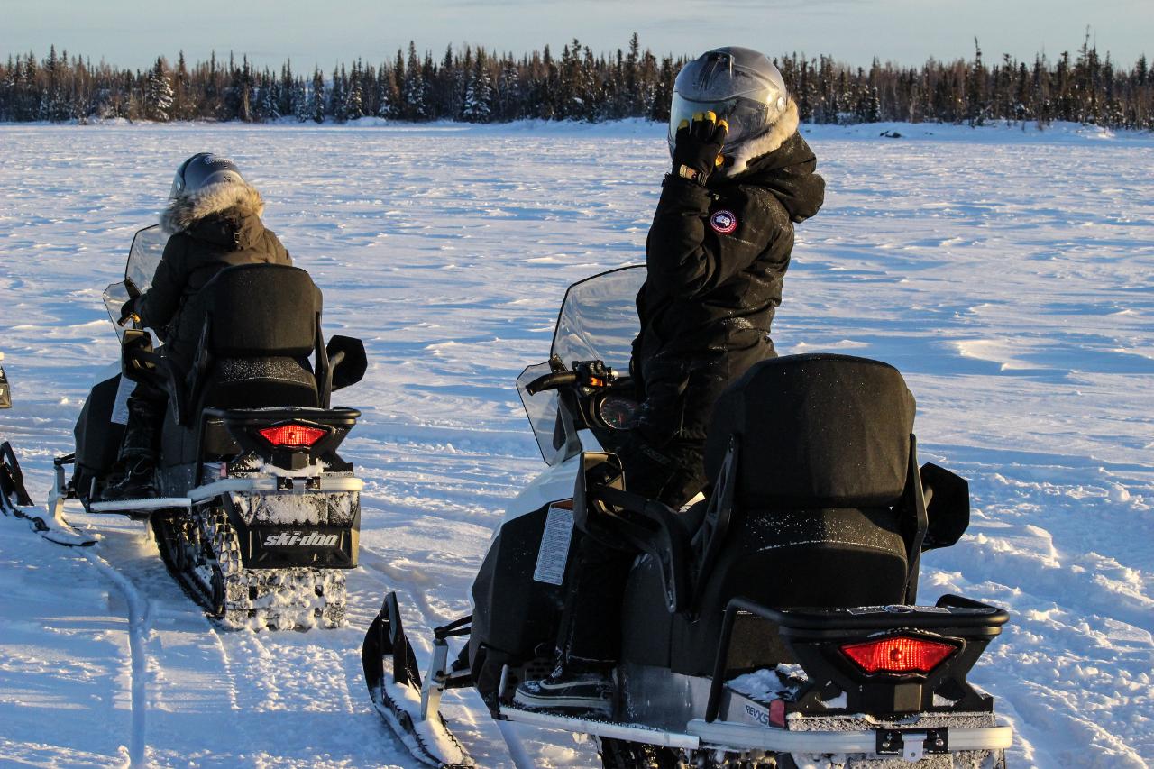Yellowknife Snowmobile Tours