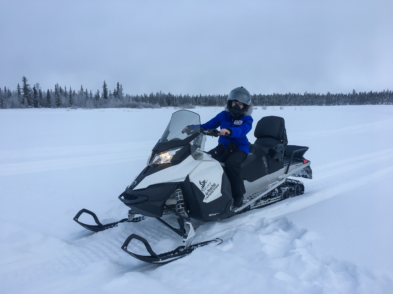 Staycation Yellowknife Snowmobile Adventure