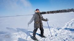 Yellowknife Snowshoeing Excursion On Great Slave Lake