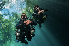 PADI SideMount Specialty Course