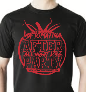 The Official La Tomatina After Party Shirt