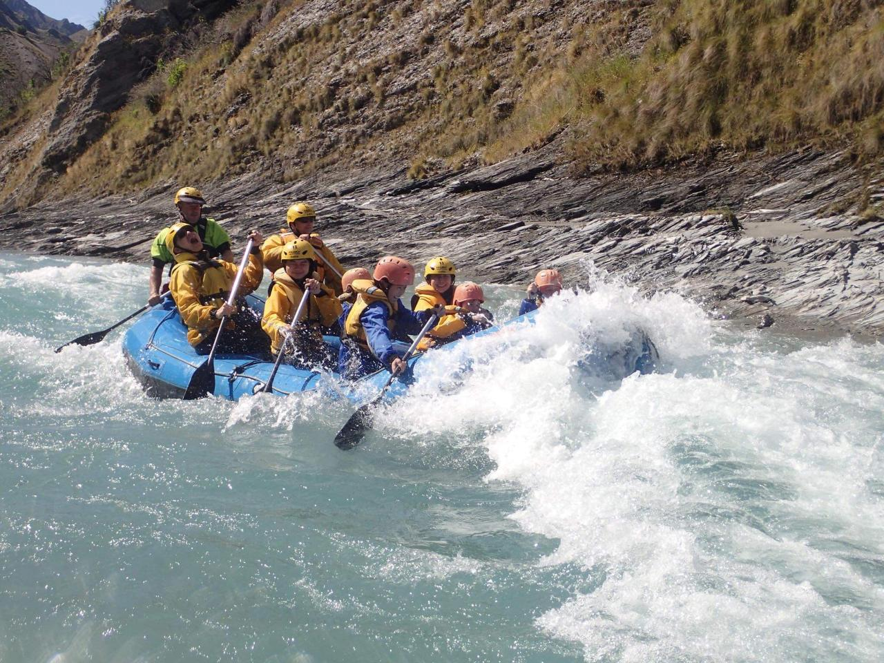 Rafting 12.30pm Sept-Nov