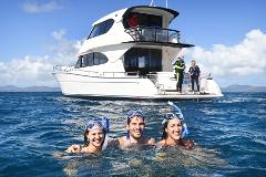 Hayman Island - Private Ocean Free Charter - Outer Reef