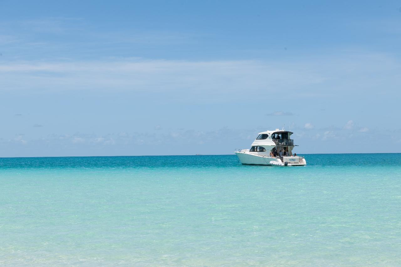 Hamilton Island - Private Ocean Free Charter Extended Day (8hrs)