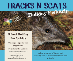 Tracks 'n Scats Holiday Field-trip