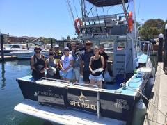 WEEKEND - AFTERNOON - Deep Sea Fishing Charter - (BLUE-FISHER)