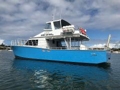 WEEK-DAY - MORNING - Deep Sea Fishing Charter - (THE BLUE CAT)
