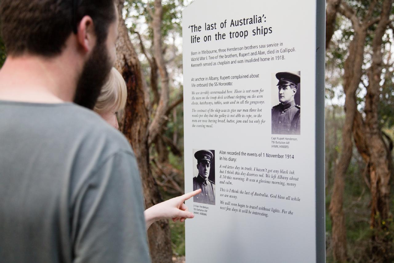 NATIONAL ANZAC CENTRE FIELD OF LIGHT PANORAMA PASS