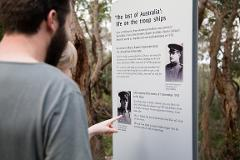 NATIONAL ANZAC CENTRE FIELD OF LIGHT PANORAMA PASS