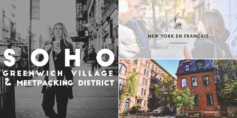 Visite Guidée de SoHo, Greenwich Village et Meatpacking District (HIVER)